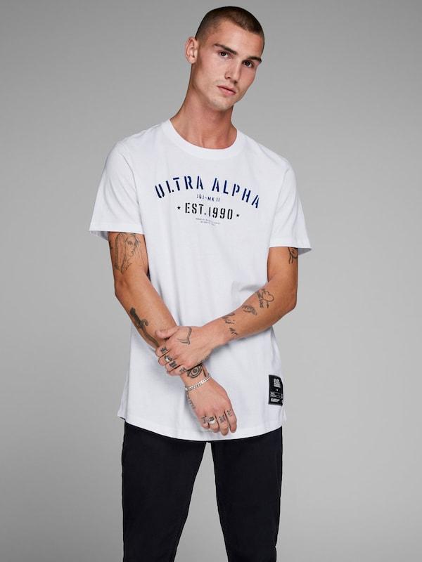 Jones DonkerblauwZwart In Shirt Wit Jackamp; dxrBtsChQ