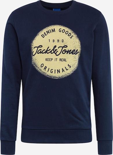 JACK & JONES Mikina 'JORTORINO SWEAT CREW NECK FST' - námořnická modř, Produkt