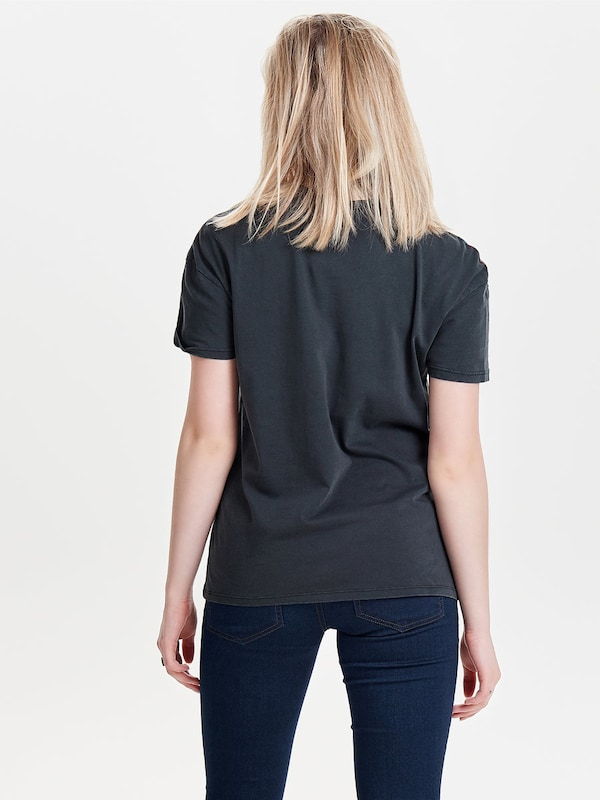 Only Print Shell With Short Sleeves