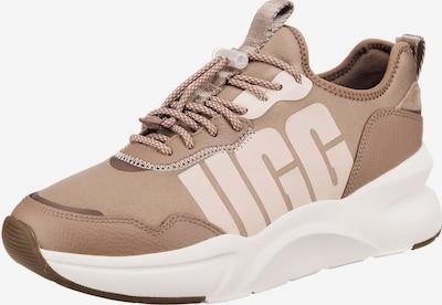 Sneaker low UGG pe bej / maro cămilă, Vizualizare produs