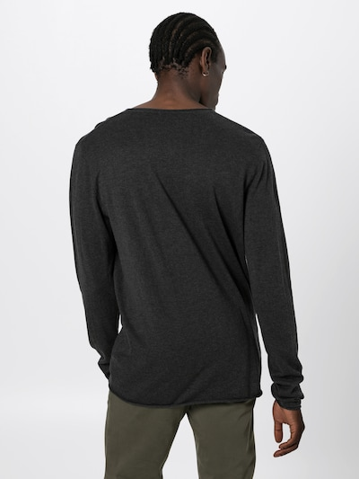 SELECTED HOMME Pullover 'SHDDOME CREW NECK NOOS' in anthrazit: Rückansicht