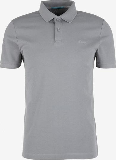 s.Oliver Poloshirt in hellgrau, Produktansicht