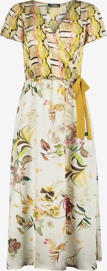 Nicowa Maxikleid 'IDALINA' in creme / gelb / grün, Produktansicht