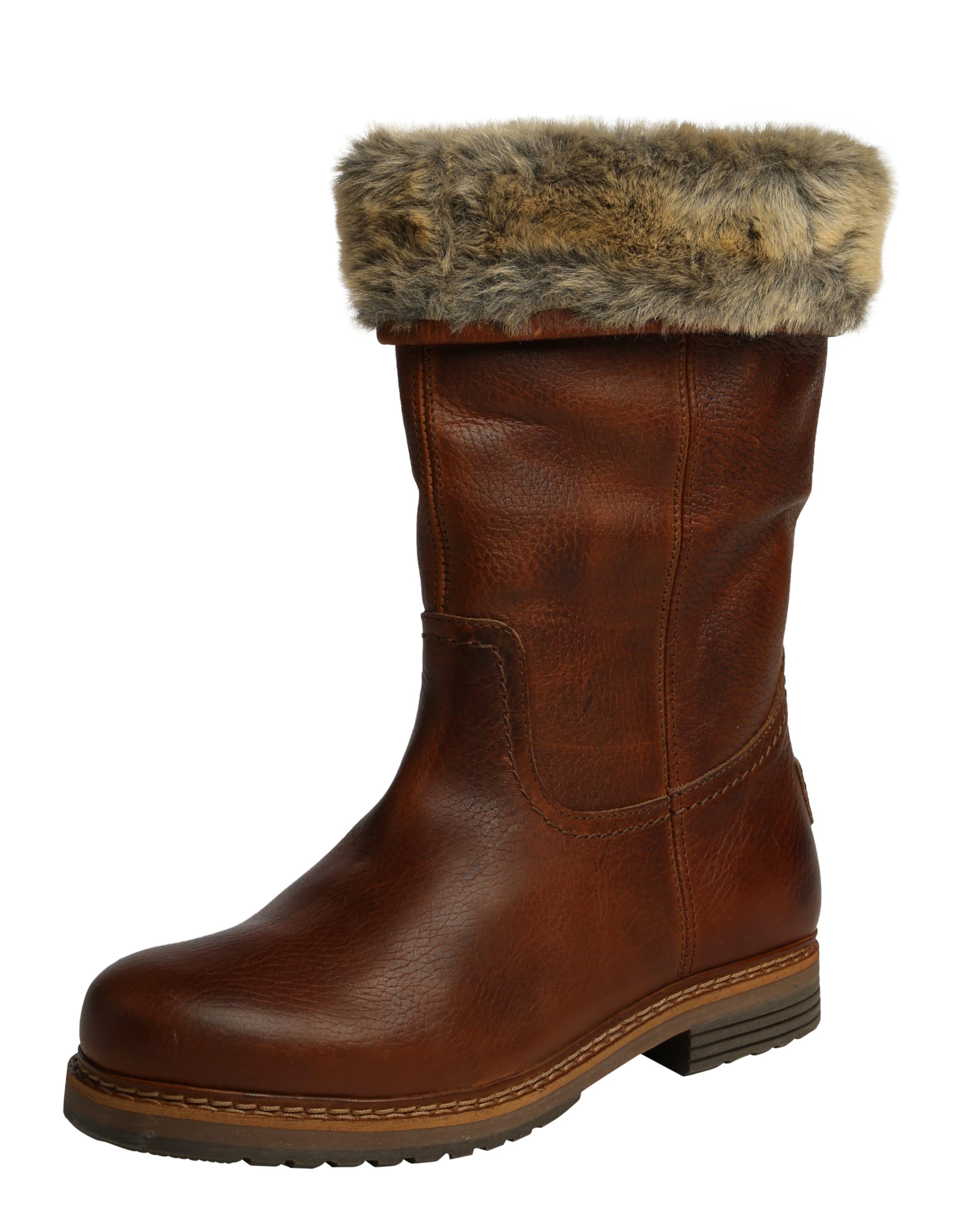 BULLBOXER Stiefel mit Fellumschlag Günstige und langlebige Schuhe