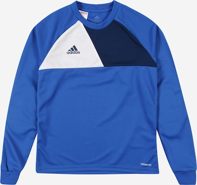 ADIDAS PERFORMANCE Shirt in blau: Frontalansicht