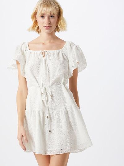 MINKPINK Sukienka 'GIOVANNA' w kolorze białym: Widok z przodu