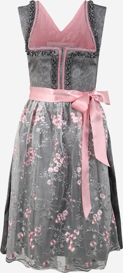 MONDKINI Dirndl 'Jenny' in grey / pink, Item view
