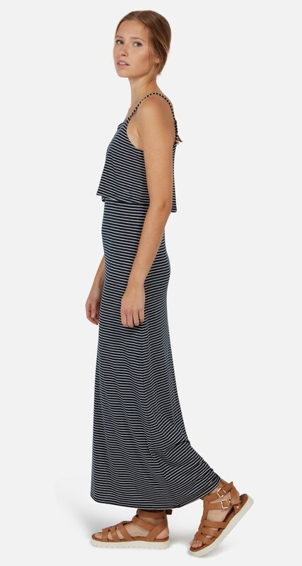 Tom Tailor Denim Striped Maxi-dress