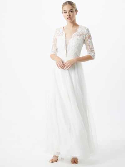 Chi Chi London Kleid 'Bridal Ruby' in weiß, Modelansicht