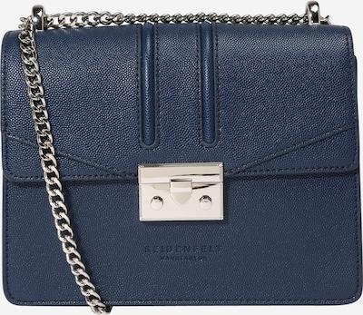 Seidenfelt Manufaktur Sac à bandoulière 'ROROS' en bleu foncé, Vue avec produit