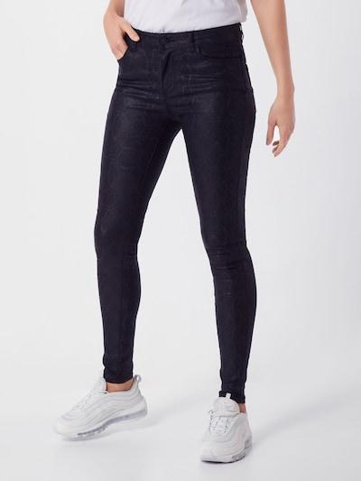 VERO MODA Pantalon 'VMSEVEN' en noir, Vue avec modèle
