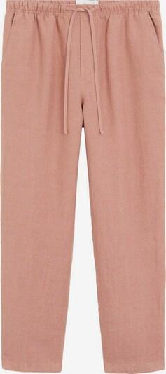 MANGO Hose linen in pink, Produktansicht
