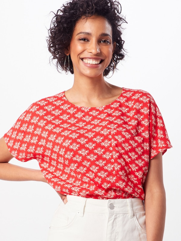 'prt Ss' T shirt Klein Raglan Calvin Rouge Top En thQsCrd