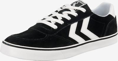 Hummel Sportschoen 'Stadil 3.0 Suede' in de kleur Zwart / Wit, Productweergave