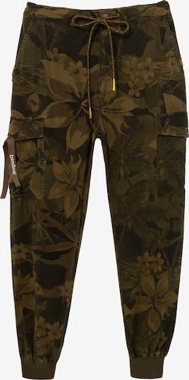 Pantaloni cargo 'Malala' Desigual di colore verde / nero, Visualizzazione prodotti