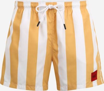 HUGO Plavecké šortky 'Santa Cruz' - oranžová / biela, Produkt
