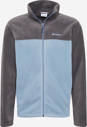 COLUMBIA Funkčná flisová bunda - dymovo modrá / sivá, Produkt