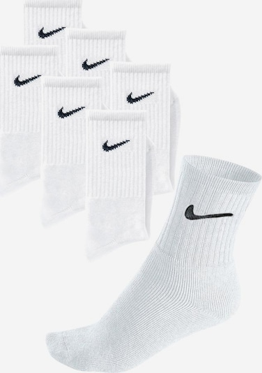 NIKE Sportsocken 'Nike Everyday Cushion Crew' in schwarz / weiß, Produktansicht