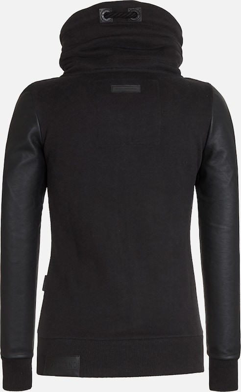 naketano Female Zipped Jacket Black Auf Liebeskasper