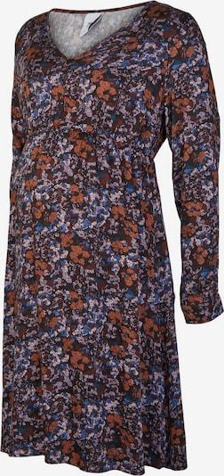 MAMALICIOUS Robe en marron / mélange de couleurs, Vue avec produit