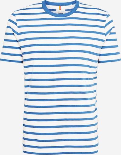 Tricou Marc O'Polo pe albastru / alb, Vizualizare produs