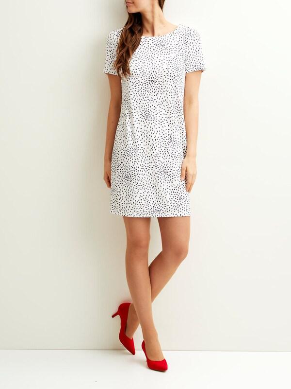 VILA Schlichtes Kleid mit kurzen Ärmeln