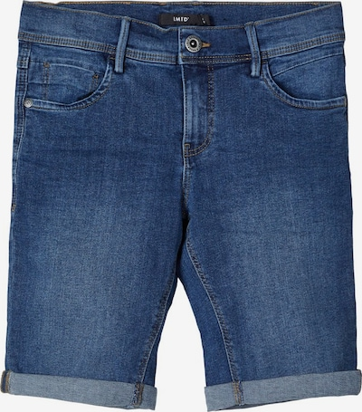 LMTD Jeans-Shorts 'NLMSHAUN' in blue denim, Produktansicht