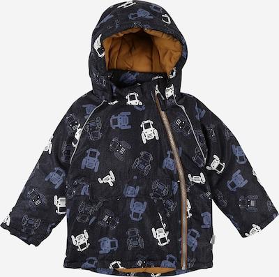 NAME IT Zimní bunda - chladná modrá / tmavě modrá / bílá, Produkt