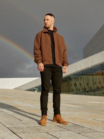 Cozy Jacket Look by DAN FOX APPAREL