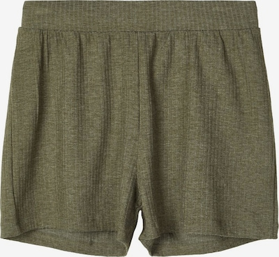 NAME IT Gerippte Loose Fit Shorts in khaki, Produktansicht