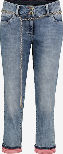 Betty Barclay Sommerjeans mit Waschung in blau, Produktansicht