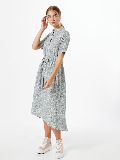 SELECTED FEMME Kleid 'Bella' in pastellblau / gelb / weiß, Modelansicht
