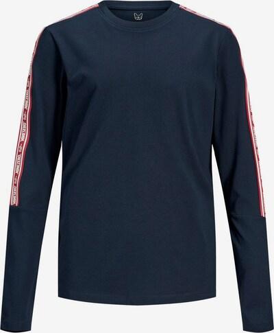 Jack & Jones Junior Shirt in de kleur Donkerblauw / Rood / Wit, Productweergave