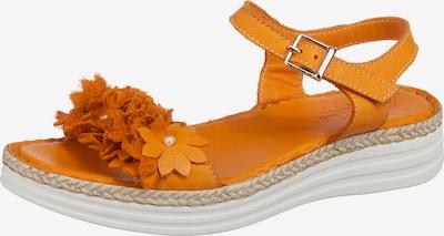 ANDREA CONTI Sandale in dunkelorange, Produktansicht