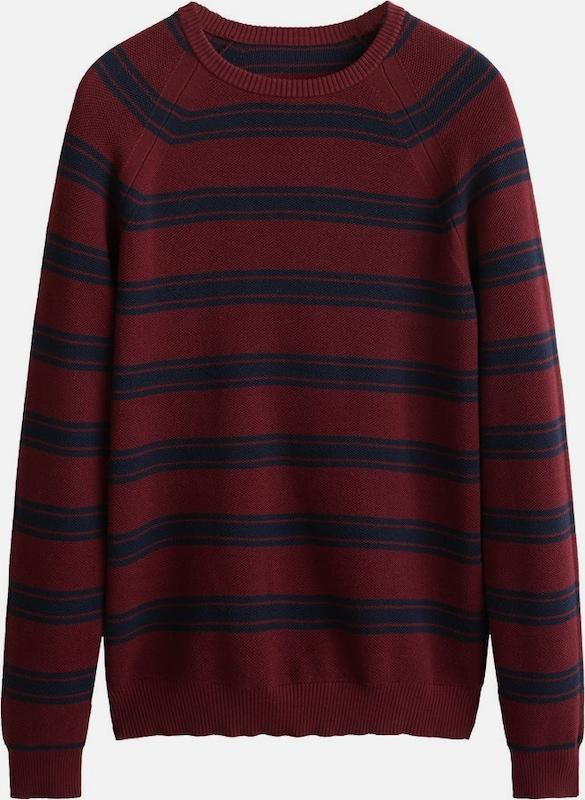 MANGO MAN Pullover 'Paolo' 'Paolo' 'Paolo' in nachtblau   rubinrot  Markenkleidung für Männer und Frauen 277a03