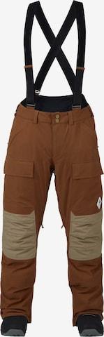 BURTON Outdoor Pants 'Vicker ' in Brown