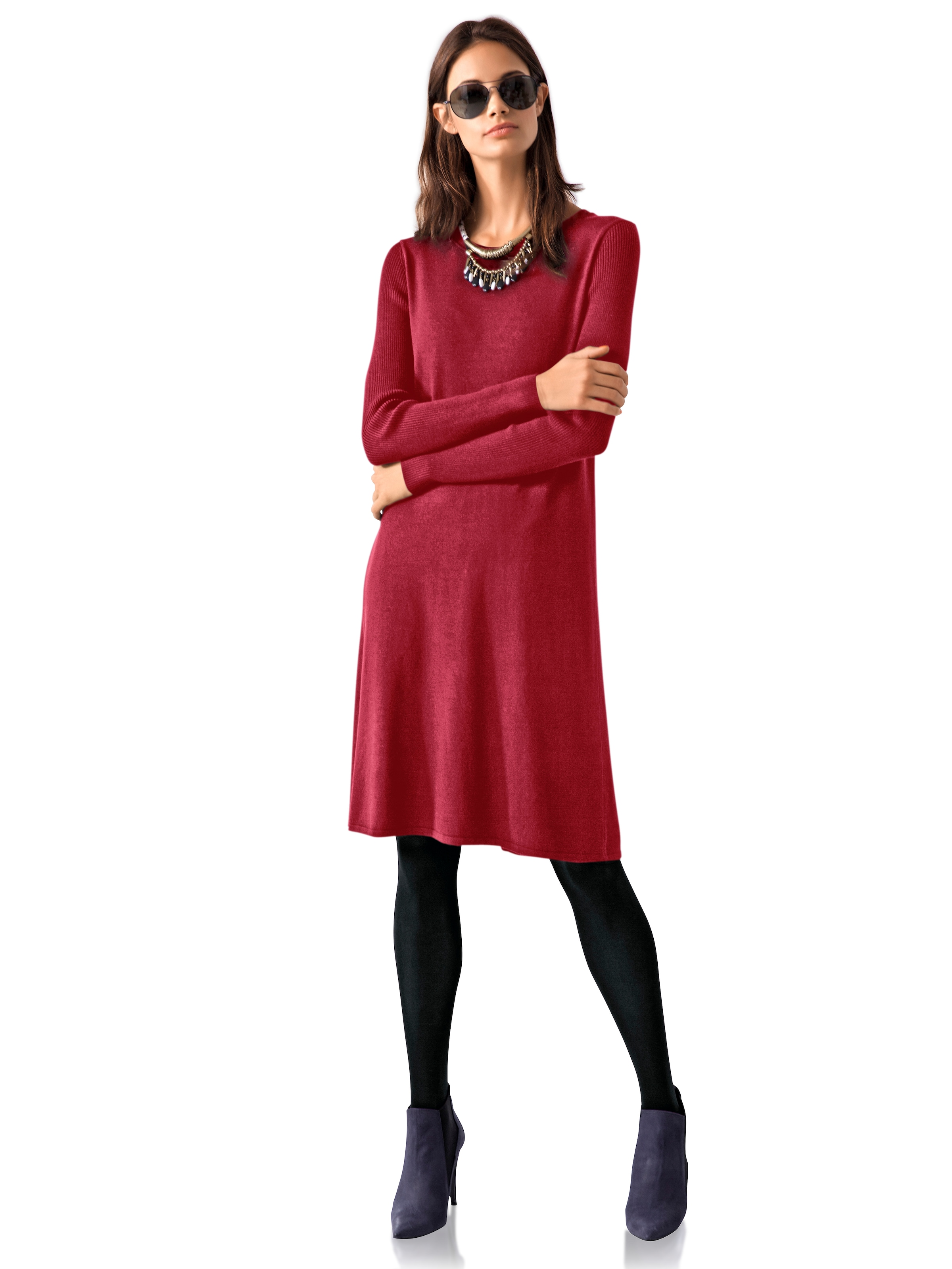 Heine In In Strickkleid In Strickkleid Strickkleid Heine Weinrot Strickkleid Weinrot Heine Heine Weinrot In IE2YW9DH