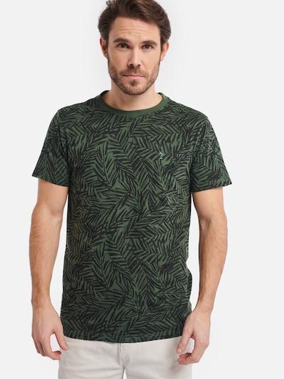 Shiwi Shirt 'Tee Mangrove' in hellgrün: Frontalansicht