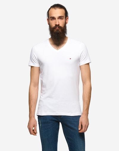 TOMMY HILFIGER T-Krekls, krāsa - gandrīz balts, Modeļa skats