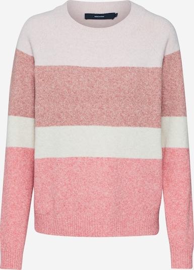 VERO MODA Pullover 'VMDOFFY' in creme / rosa, Produktansicht
