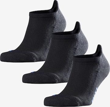 Chaussettes 'Cool Kick 3-Pack' FALKE en noir