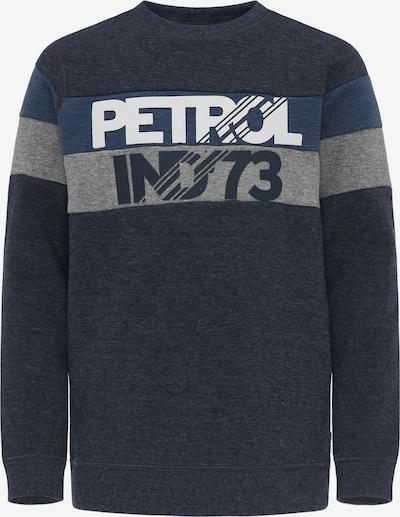 Petrol Industries Sweatshirt in blau / grau, Produktansicht