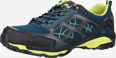 Kastinger Lage schoen in de kleur Donkerblauw / Neongeel / Zwart, Productweergave
