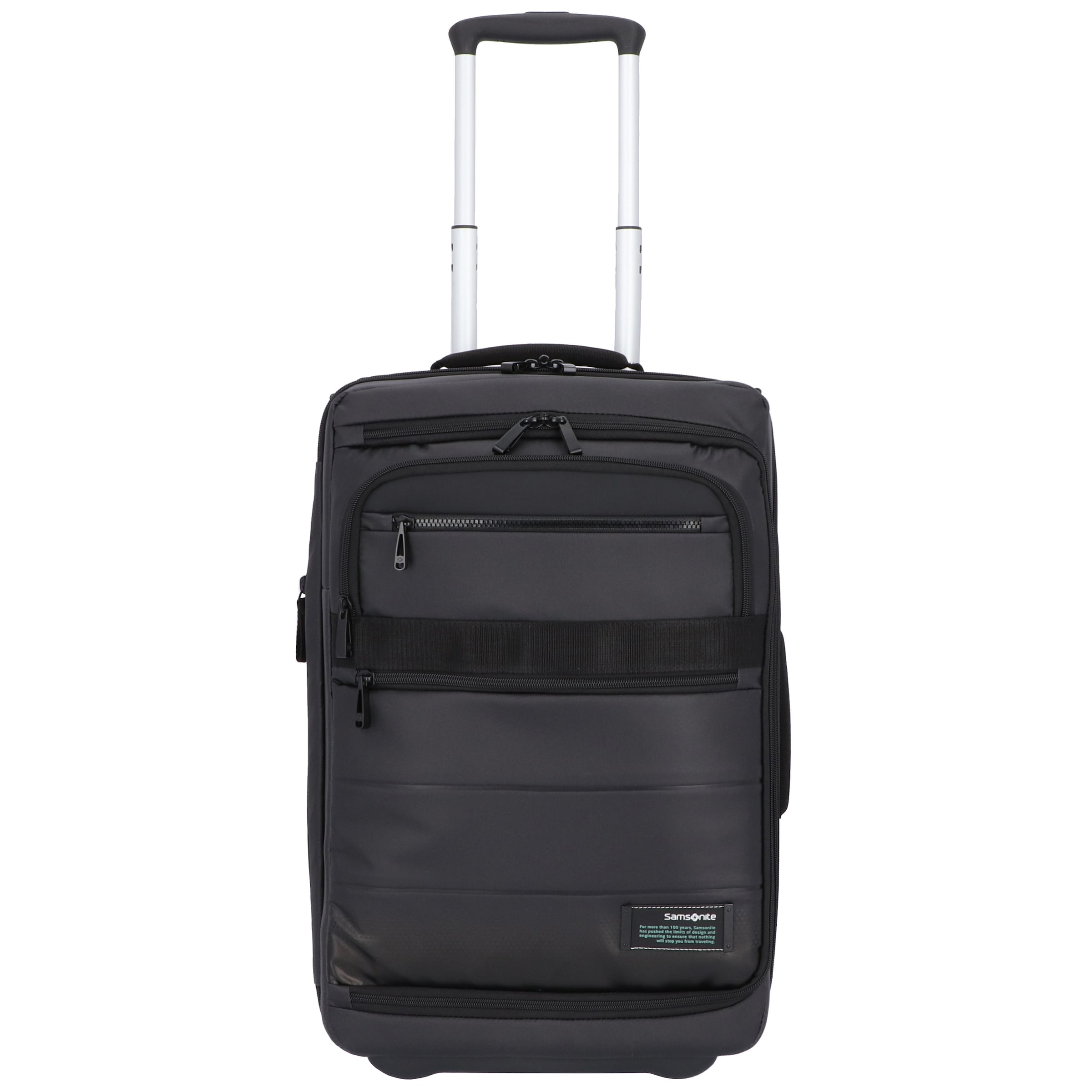 2 Samsonite Cm 0 Mobile Laptopfach Kabinentrolley In rollen Rot 55 Office Cityvibe 2 WI29YDEH