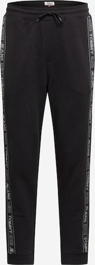 Tommy Jeans Pantalon en noir / blanc, Vue avec produit