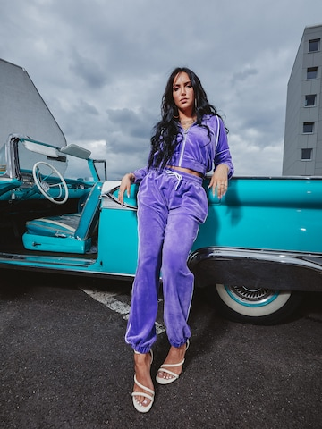 Pull Up In Purple Tracksuit Look by VIERVIER