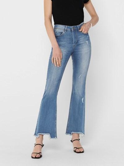 JACQUELINE de YONG Jeans 'Flora' in de kleur Blauw denim, Modelweergave