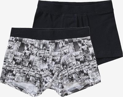 SCHIESSER Pants in schwarz / weiß, Produktansicht