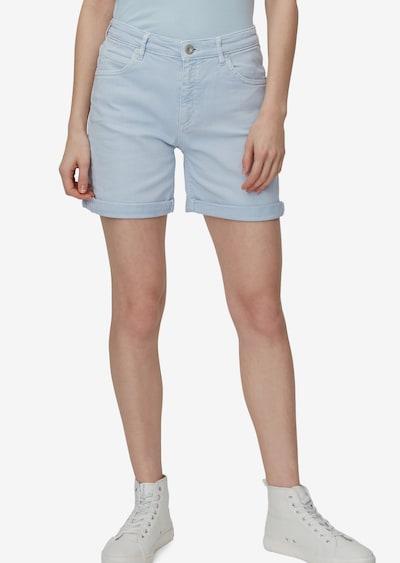 Marc O'Polo Shorts in hellblau, Modelansicht