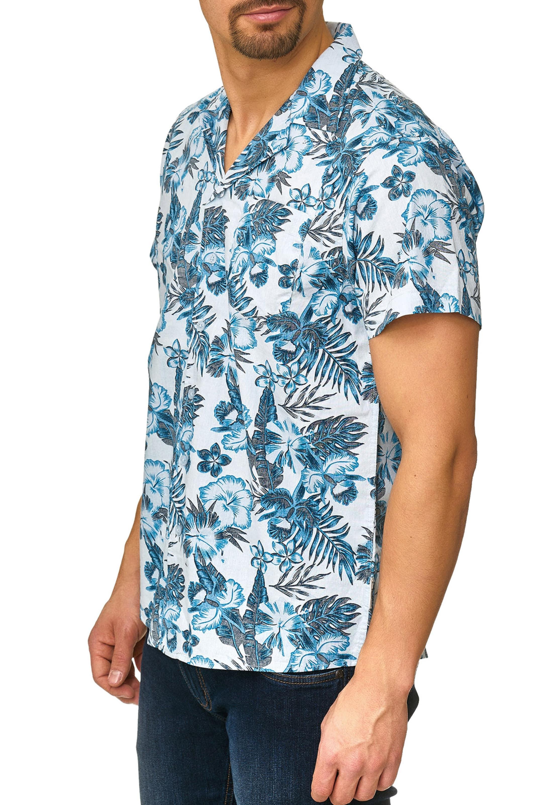 BlauWeiß In Indicode Jeans Hemd 'mcmillan' oedrCBWQx